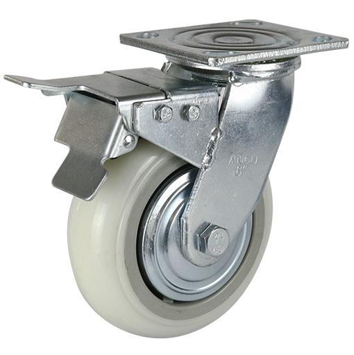 77系列重型超级尼龙轮(圆顶)