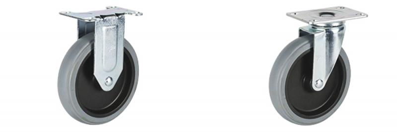52系列 中型灰色改性聚氨酯轮