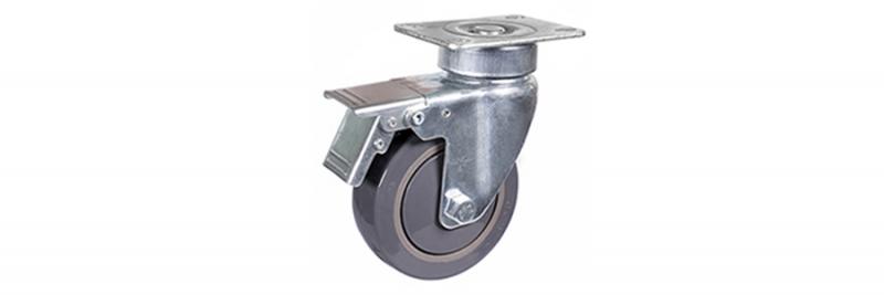 57系列 中型灰色单轴承改性聚氨酯轮