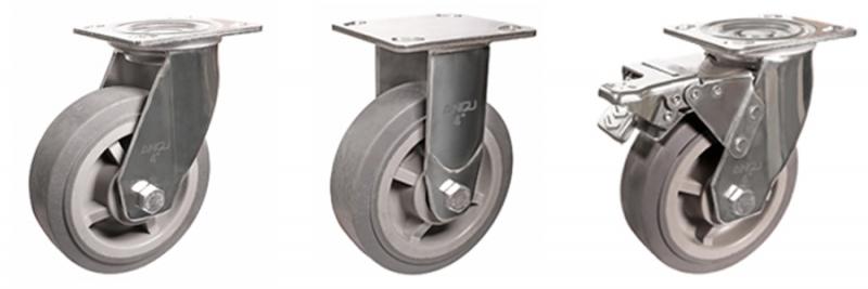 78系列 重型不锈钢超级人造胶轮